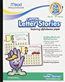 Mead Letter Stories - Capital Letters, 10 x 8 Inches, 40 Count (48044)