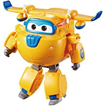 Super Wings - Transforming Donnie Toy Figure, Plane, Bot, 5