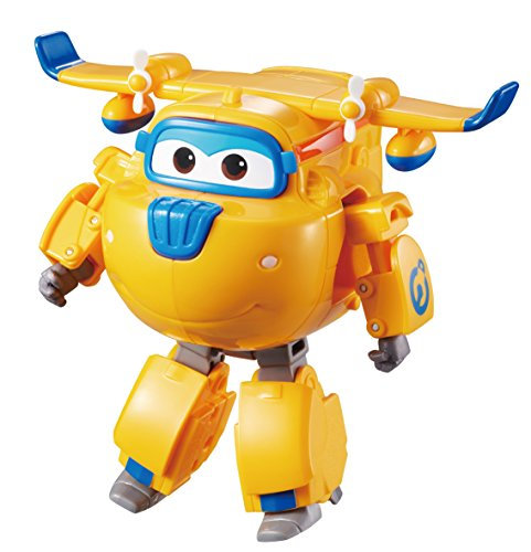 (Super Wings - Transforming Donnie Toy Figure, Plane, Bot, 5