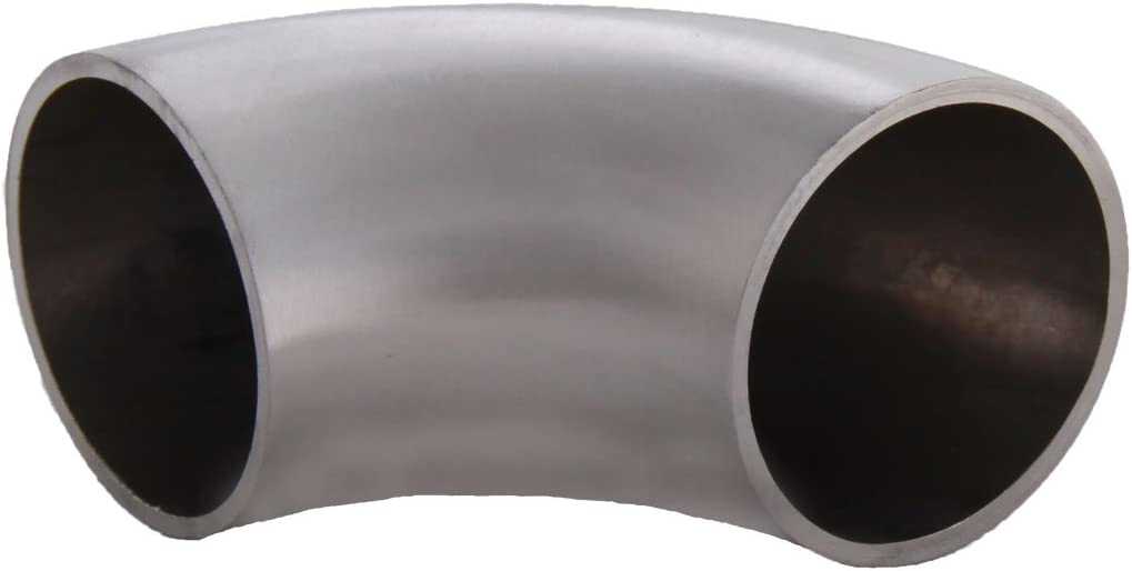 S014208 Edelstahl Rundbogen 90/° Grad Gel/änder Rohr 42,4 x 2,0 mm f/ür z.B