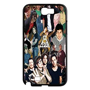 Hot FOB Rock Band Fall Out Boy Posters Hard Plastic phone Case Cove For Samsung Galaxy Note 2 Case JWH9163072