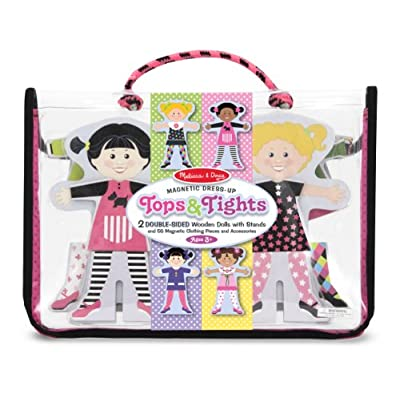 Melissa & Doug Tops & Tights Magnetic Dress-Up: Melissa & Doug: Toys & Games