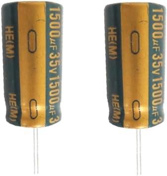 Elko Elektrolytkondensator Kondensator 1500uf 35v Low Impedanz 105 C 1009 Spielzeug