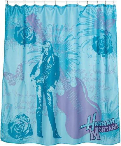 Hannah Montana Photos - Hannah Montana Fabric Shower Curtain