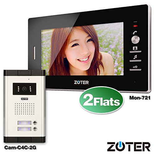 Soter Security Wired 7 Inch Lcd Color Screen Monitor 600tvl Camera