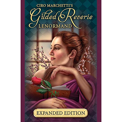 Us Game Sistem Gilded Reverie Lenormand Expanded Edition by Chiro Marchetti 47 Tarot Card Deck (with Gold Trim) by Us Game Sistem (Image #2)