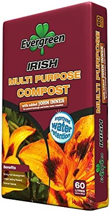 Evergreen Multi Propósito Compost + John Innes 60 L – 1 x 60 L bolsa grande: Amazon.es: Jardín