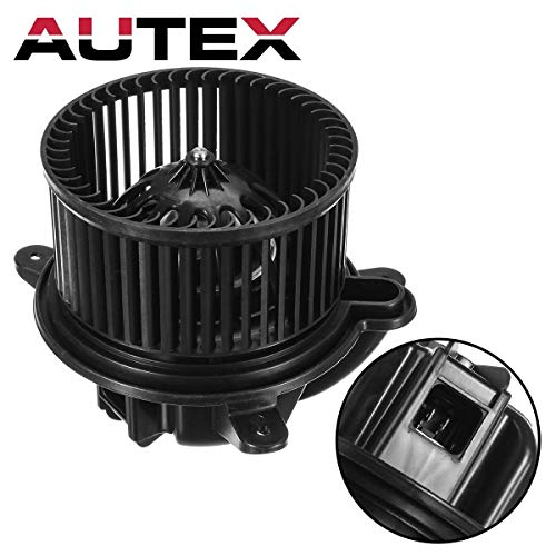 AUTEX HVAC Blower Motor Assembly Compatible with Jeep Cherokee 1997-2001 Blower Motor Replacement for Jeep Wrangler 97-01 Blower Motor Air Conditioner 700095 4886150AA ()