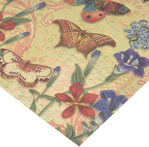 #58586 Punch Studio Boutique Lavender Scented Drawer Liners Papillon Butterfly by Punch Studio