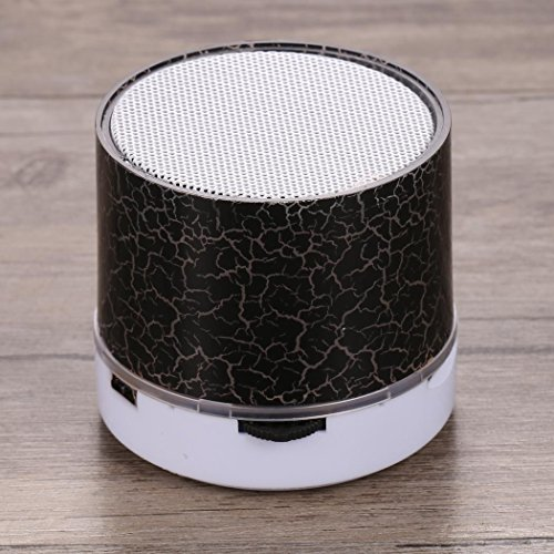 LED Portable Mini Wireless Bluetooth Speakers w...