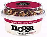 NOOSA Honey Cranberry Almond Yogurt Mates, 5.5 OZ