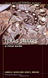 Texas Snakes: A Field Guide (Texas Natural History GuidesTM)