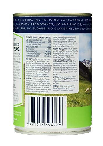 Product image of Ziwi Peak Canned Tripe & Lamb Dog (12 Pack, 13.75Oz. Each), All