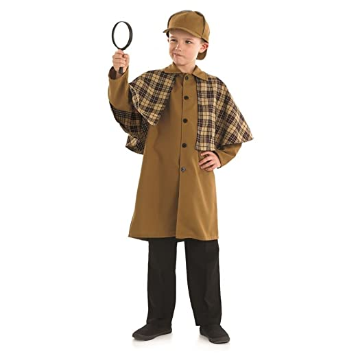Victorian Kids Costumes & Shoes- Girls, Boys, Baby, Toddler KIDS VICTORIAN DETECTIVE $33.10 AT vintagedancer.com