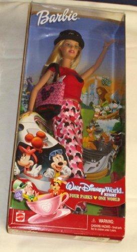 Walt Disney World Barbie Four Parks One World (Walt Barbie Disney)