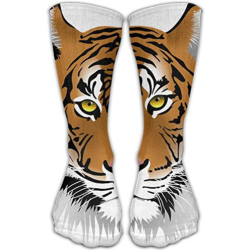 Tiger Head Fashionable Sock Long Socks Sports Athletic