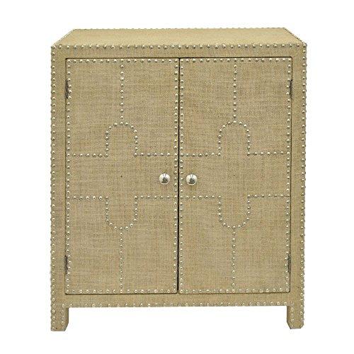 Benzara HRT-43688 Amazing Two Door Cabinet