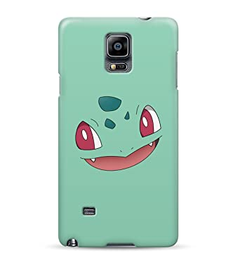 da736079e Bulbasaur Face Ivysaur Venusaur Pokemon Hard Plastic Snap On Back Case Cover  For Samsung Galaxy Note 4: Amazon.co.uk: Electronics