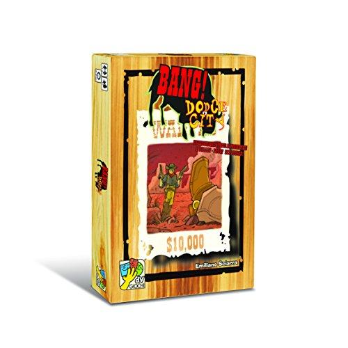 DA VINCI Davinci Editrice S.r.l. Bang! Dodge City Card Game (The City Card Game)