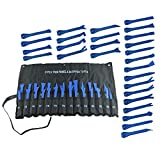 JC Performance Plastic Interior Wedge Tool - Automotive Trim tool (27 Piece w/Pouch, Blue)