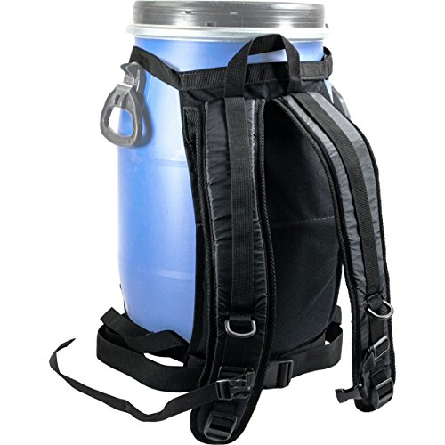 Harmony Dry Storage Barrel Harness One Color, 60L (Backpack Barrel)