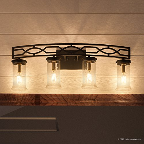 (Luxury Mediterranean Bathroom Vanity Light, Large Size: 11.5