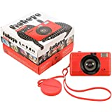 Lomography FishEye Point-n-Shoot 35mm Camera, Red - Special Limited Edition