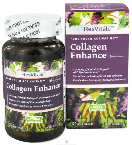 ResVitle Collagen Enhance 120 Veggie (Biocell Collagen Vegetables Caps)