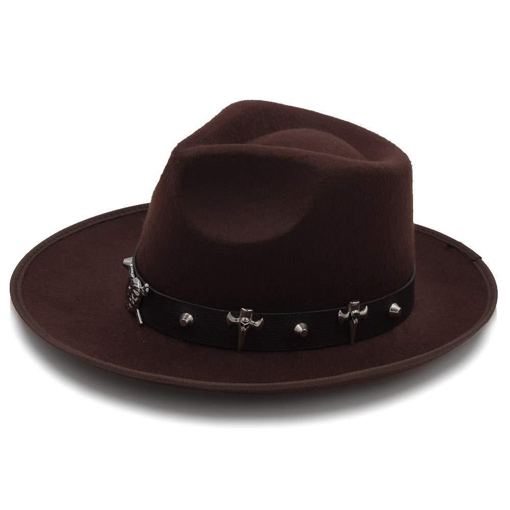 314c4aeddb1ca ... Sombrero- ala Ancha Otoño Moda Femenina Superior Superior Superior Jazz  Fedora de Invierno para Hombres