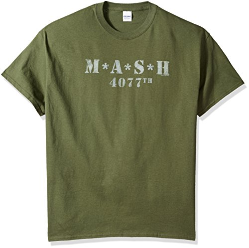 Distressed Logo Mens T-shirt - M.A.S.H - Distressed Logo T-Shirt Size XL