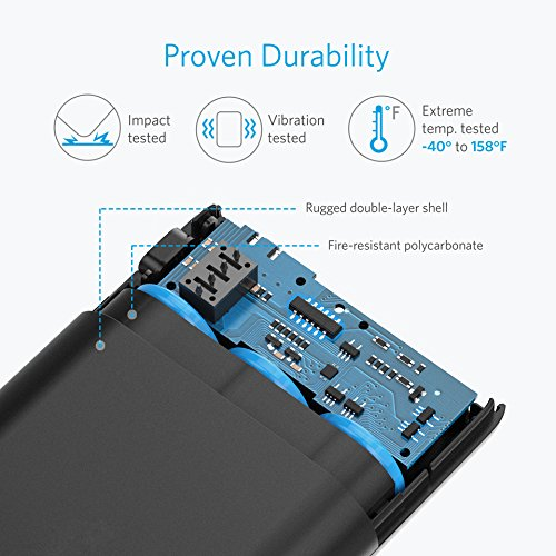 Anker PowerCore swiftness 10000 QC Qualcomm fast charge 30 moveable Charger by using strength IQ strength Bank for Samsung iPhone iPad and significantly more External Battery Packs
