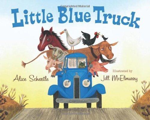 Little Blue Truck big book by Schertle, Alice (2010) Paperback
