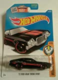 Hot Wheels, 2016 Muscle Mania, '72 Ford Gran Torino Sport [Black] 122/250