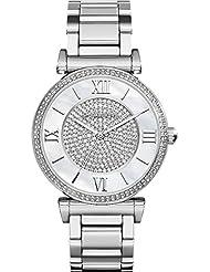 Michael Kors MK3355 Ladies Catlin Silver Watch