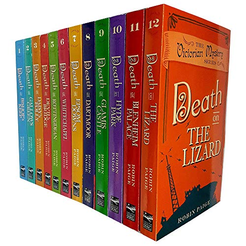 Robin Paige Victorian Mystery Series 12 Books Collection Set (Death at Glamis Castle, Death in Hyde Park, Death at Daisy's Folly..Etc)