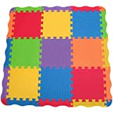 Edushape Solid Play Mat, 25 Count