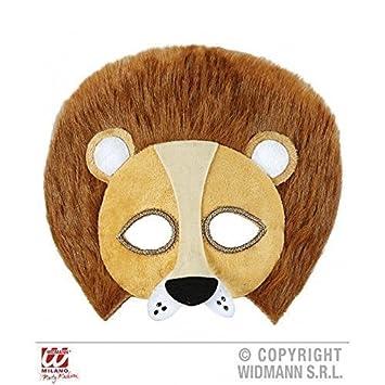 Máscara de pestañas / Máscara / Mascarilla felpa León (Traje de león / Traje de