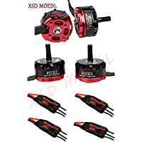 XSD MOEDL 4X Emax RS2205 2300KV Brushless Motor + 4X EMAX Simonk 20A for 250 QAV250 ZMR250 FPV RC Quadcopter