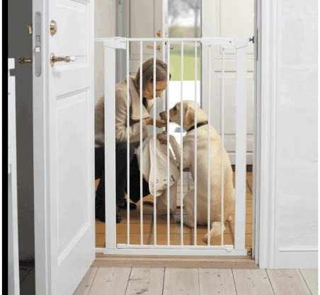 Baby Extra High Tall Pressure Indicator Safety Gate Pet Dog Child Stair Freeship