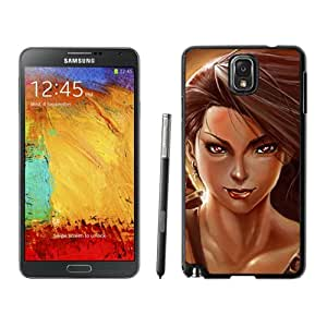 Beautiful And Unique Designed With Girl Hair Warrior Weapon Sword For Samsung Galaxy Note 3 N900A N900V N900P N900T Phone Case