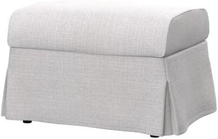 Soferia - IKEA SANDBY Funda para reposapiés, Naturel White: Amazon ...
