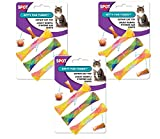 Spot Cat or Kitten Colorful Fun Tubes Size:Pack of 3 (9 Tubes)