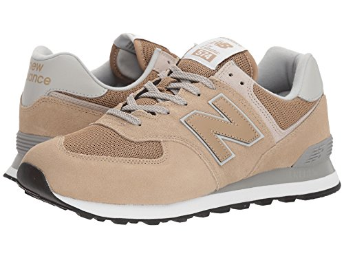 [new balance(ニューバランス)] メンズランニングシューズ?スニーカー?靴 ML574v2 Hemp/Hemp 18 (36cm) EE - Wide