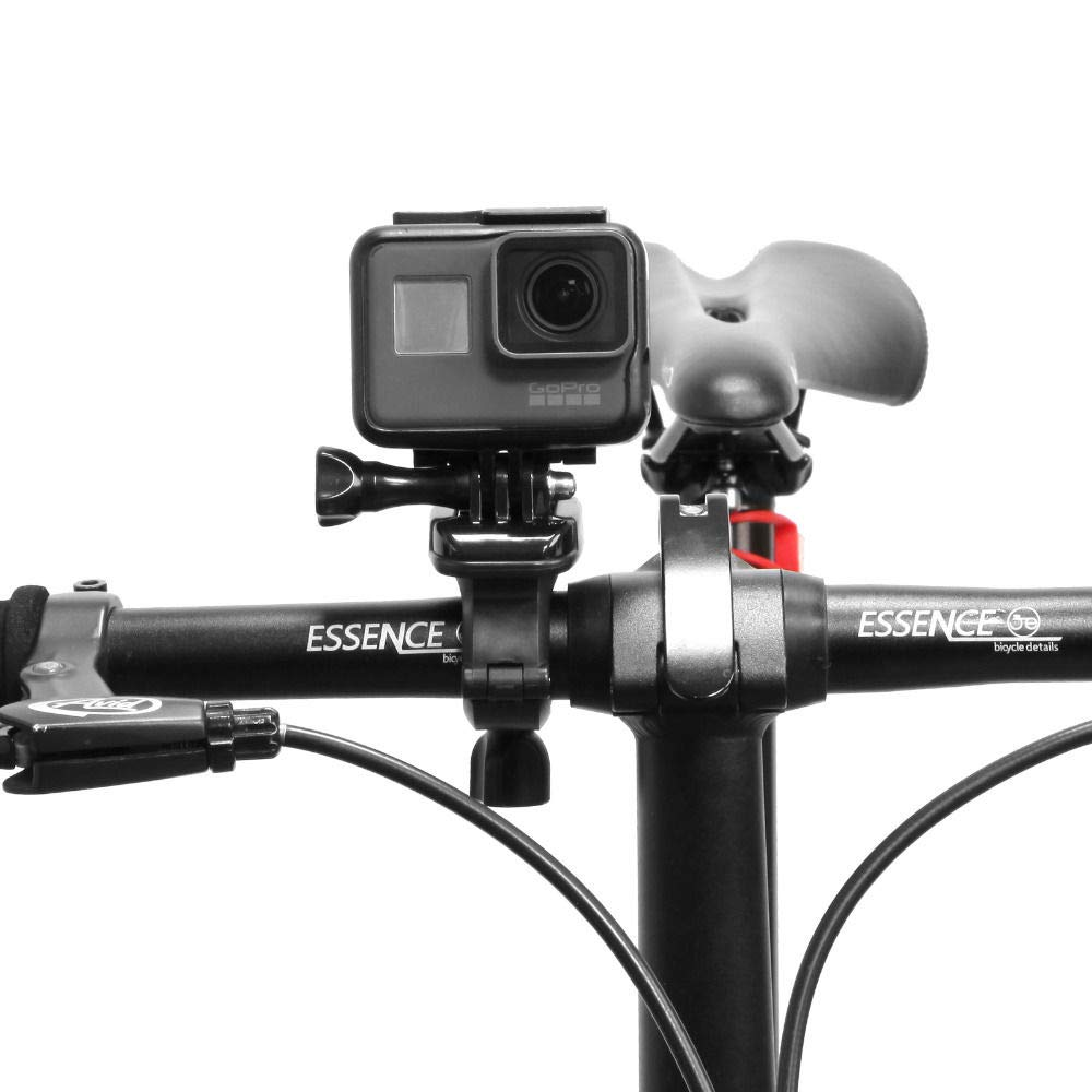 for Gopro Accessories Bike Bicycle Motorcycle Handlebar Seatpost Clamp Roll Bar Mount Holder for for Gopro Hero Action Camera