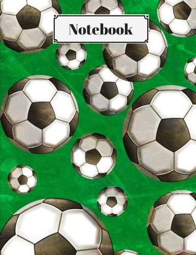 Notebook: Soccer Ball Journal: 8.5 x 11 Best 100 Page College Ruled Composition Planner for School: Doodles, Drawings, Writing, Learning and Diary Note Paper Pad for Taking Teacher and Student Notes]()