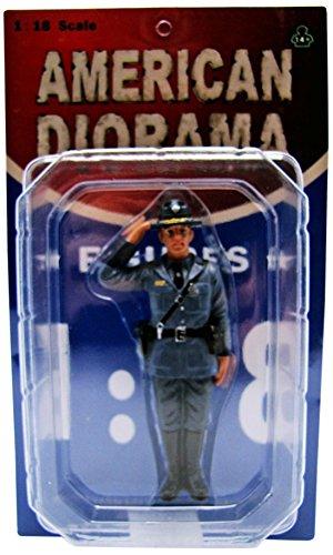 American Diorama Wholesale State Trooper Brian Figure For 1:18 Diecast Model Cars -  16110