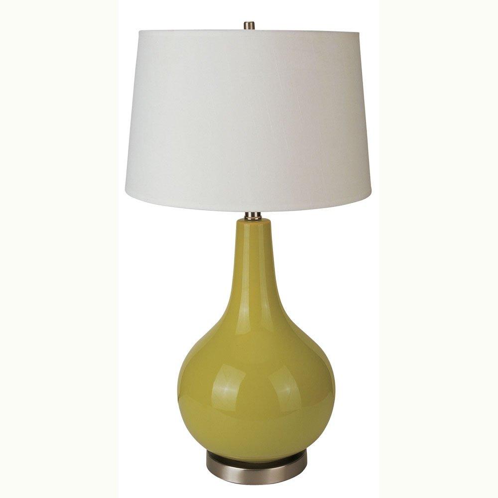 Ore international 28 green ceramic table lamp amazon mozeypictures Choice Image