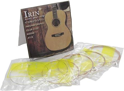 MeterMall Electrónica para A113 Cuerdas de Guitarra acústica ...