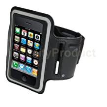 Sports Workout Arm-Band iPhone iPod Touch 3 3G 3Gs 4 4G 4S 5 5G Black