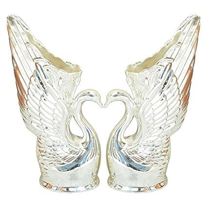 Amazon Shrinath Handicrafts Beautiful Metal Silver Plated Duck